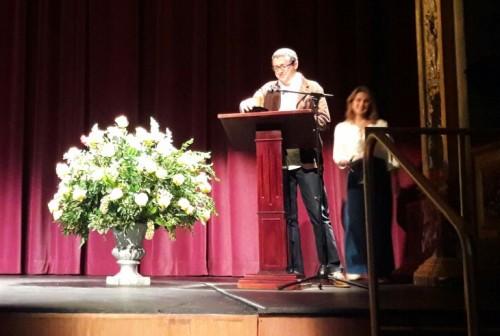 Luis Noriega en la entega del Premio.